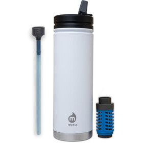 MIZU V7 - 360 Insulated Bottle 650ml Enduro White